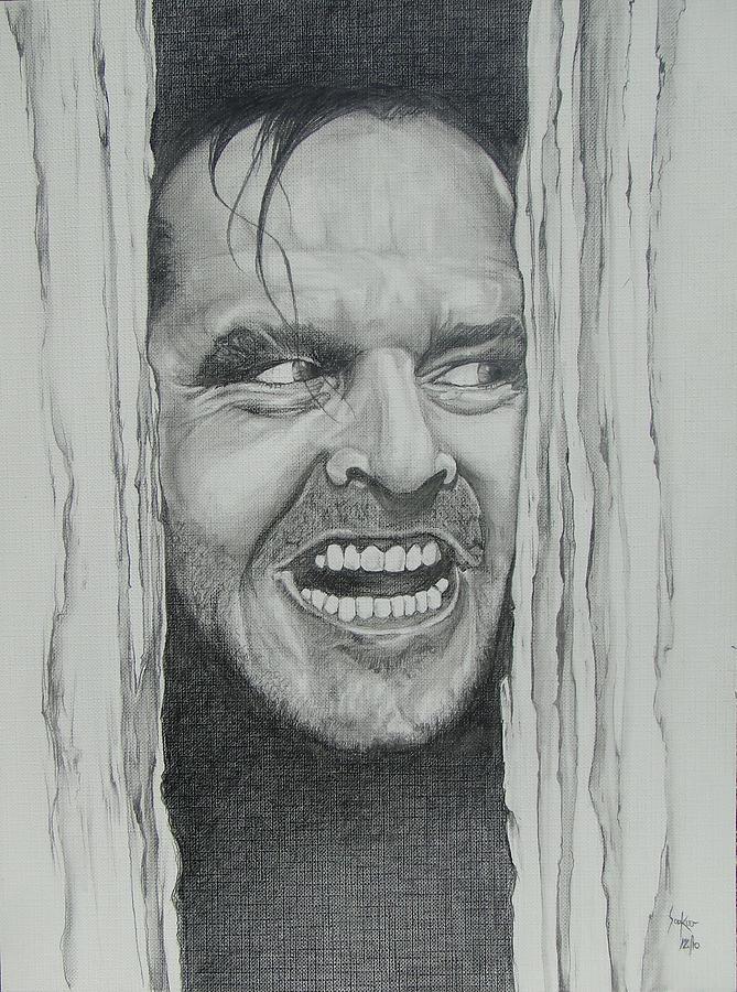 Jack Nicholson Drawing - Jack Nicholson by Stephen Sookoo