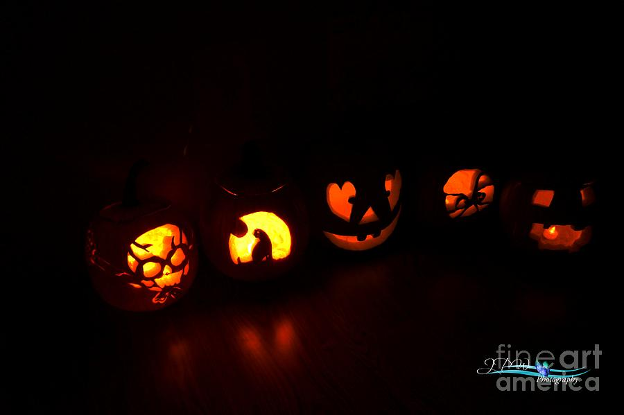 Jack o Lanterns Photograph