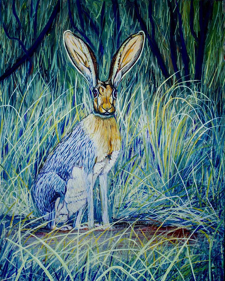 Jack Rabbit Painting - Jack Rabbit by Manuel Lopez
