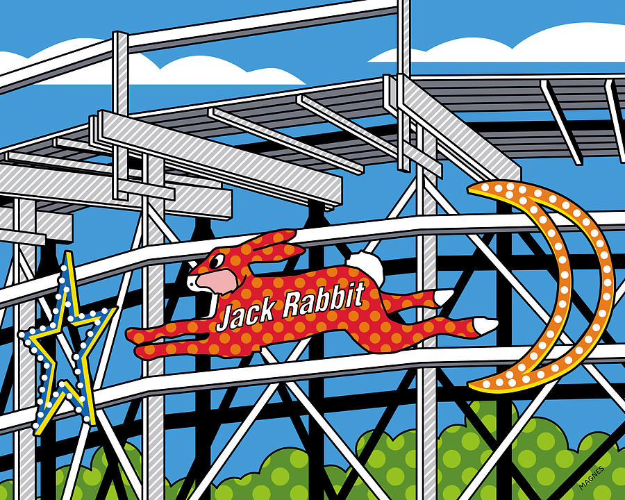 Jack Rabbit Digital Art - Jack Rabbit by Ron Magnes