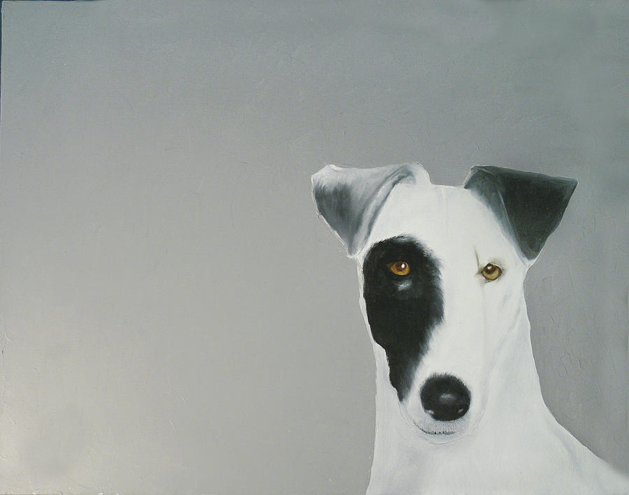 Jack Russell Painting by Dick Larsen