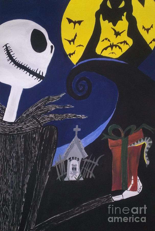 Nightmare Before Christmas Prints