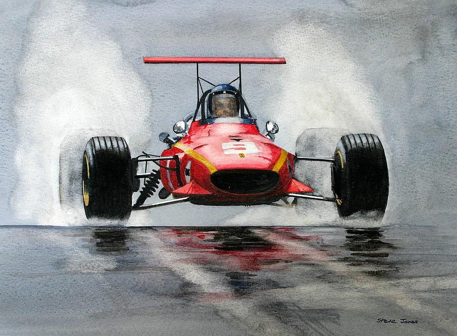 Jackie Ickx Ferrari F1