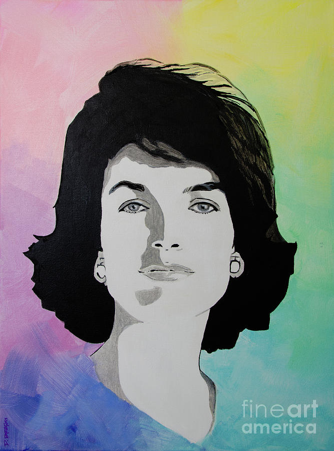 Sold Jackie Kennedy Painting