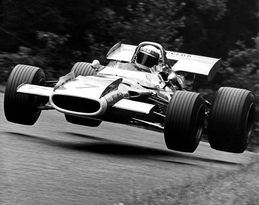 Jackie Stewart Nurburgring 1969 By Retro Photography Archive