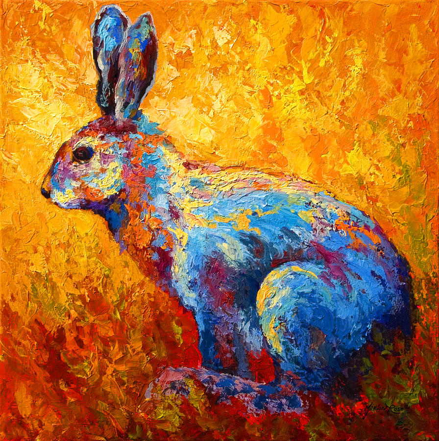 Acrylic Paintings Of Bunnies