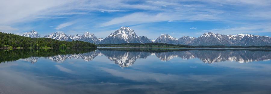 Jackson Lake Panorama Photograph