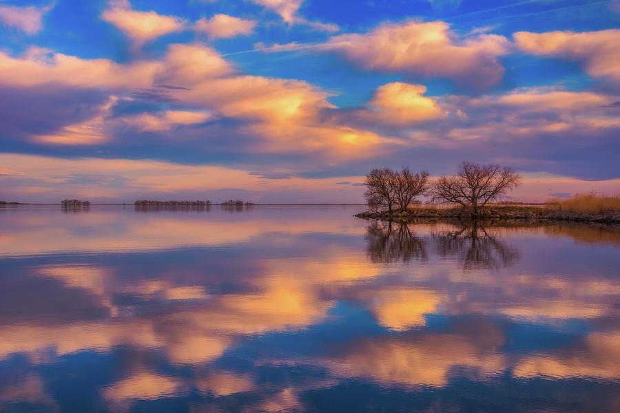 Jackson Lake Sunset Photograph