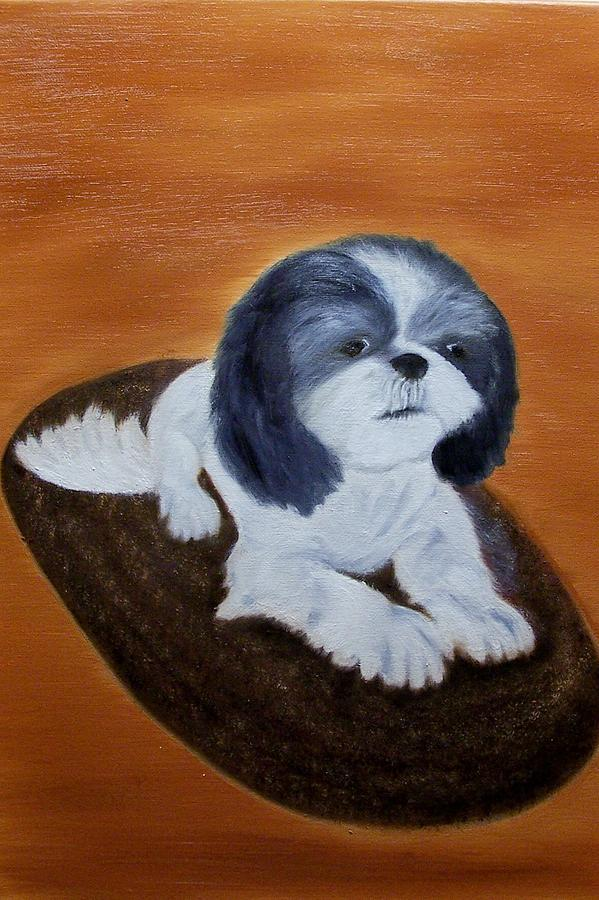Animals Painting - Jackson by Marie Lamoureaux