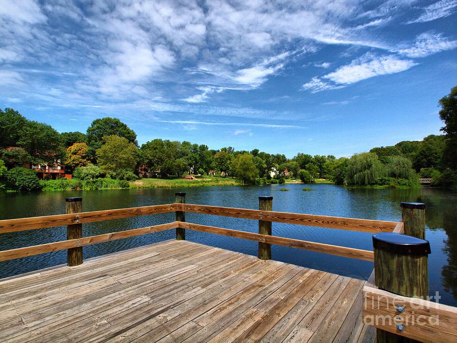 Pond Photograph - Jackson Pond by Valerie Morrison