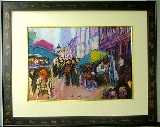 New Orleans Painting - Jackson Square  New Orleans by Joachim Casell