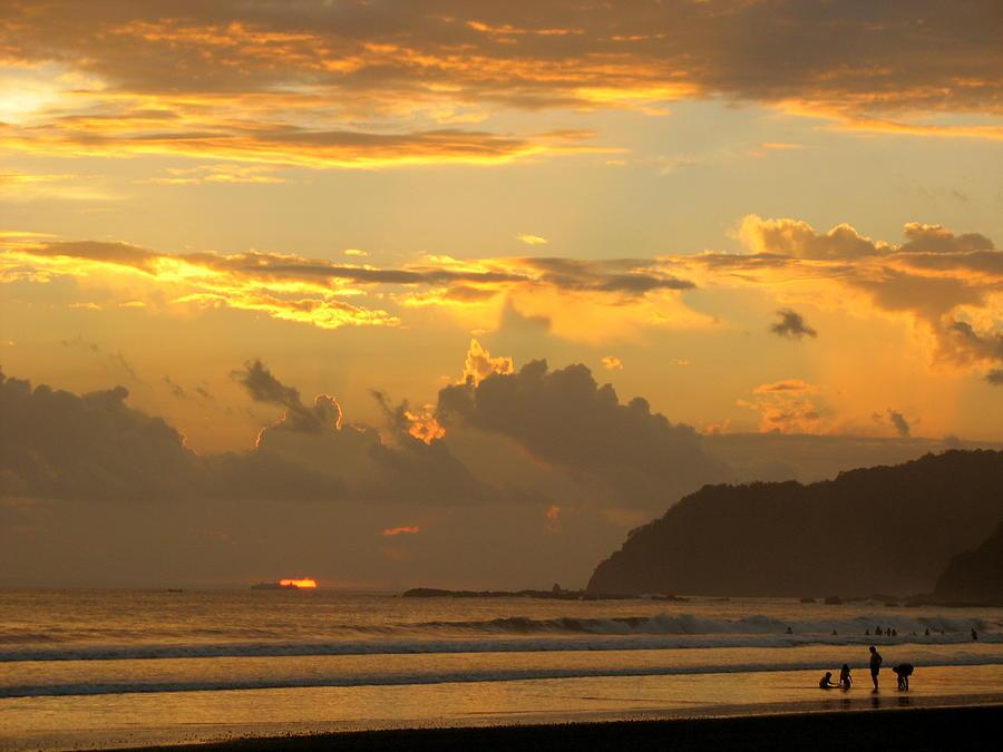 Sunset Photograph - Jaco Sunset by Daniel  Taylor