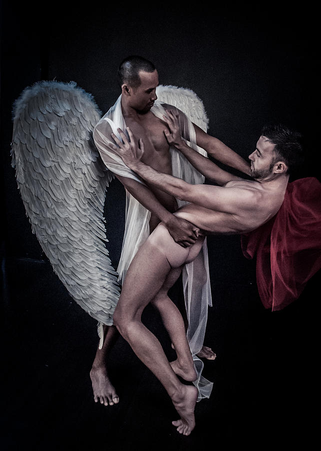 Jacob and the Angel by Rick Saint