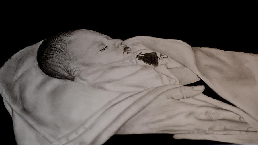 Pencil Drawing Drawing - Jacob M.  by Cristina Sofineti
