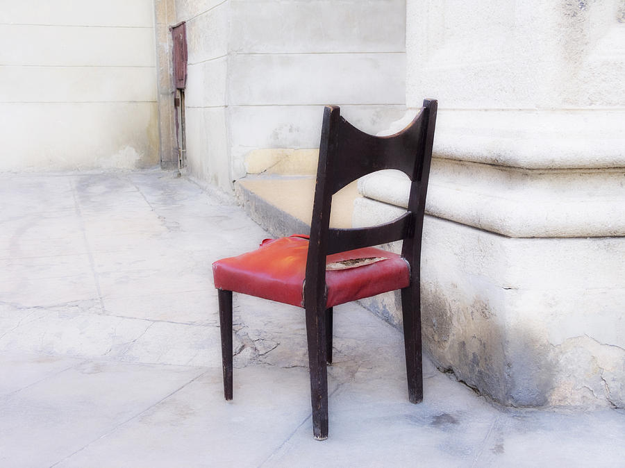 Chair Photograph - Jacobs Chair by Artecco Fine Art Photography