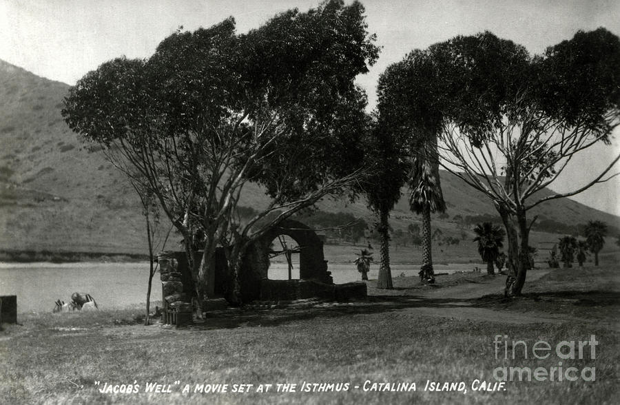 Catalina Island Photograph - Jacobs Well - King of Kings Movie Set - Isthmus - Catalina Isla by Sad Hill - Bizarre Los Angeles Archive