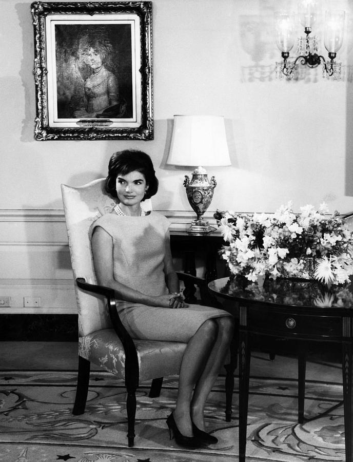 1960s Photograph - Jacqueline Kennedy, Circa. 1960s by Everett