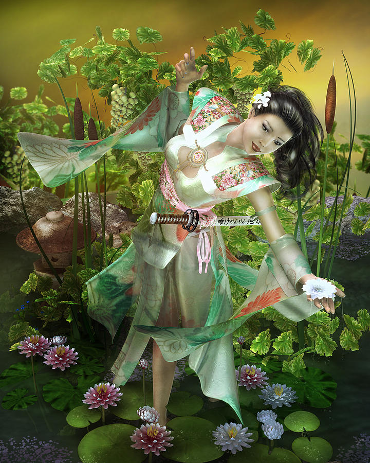 Jade Digital Art