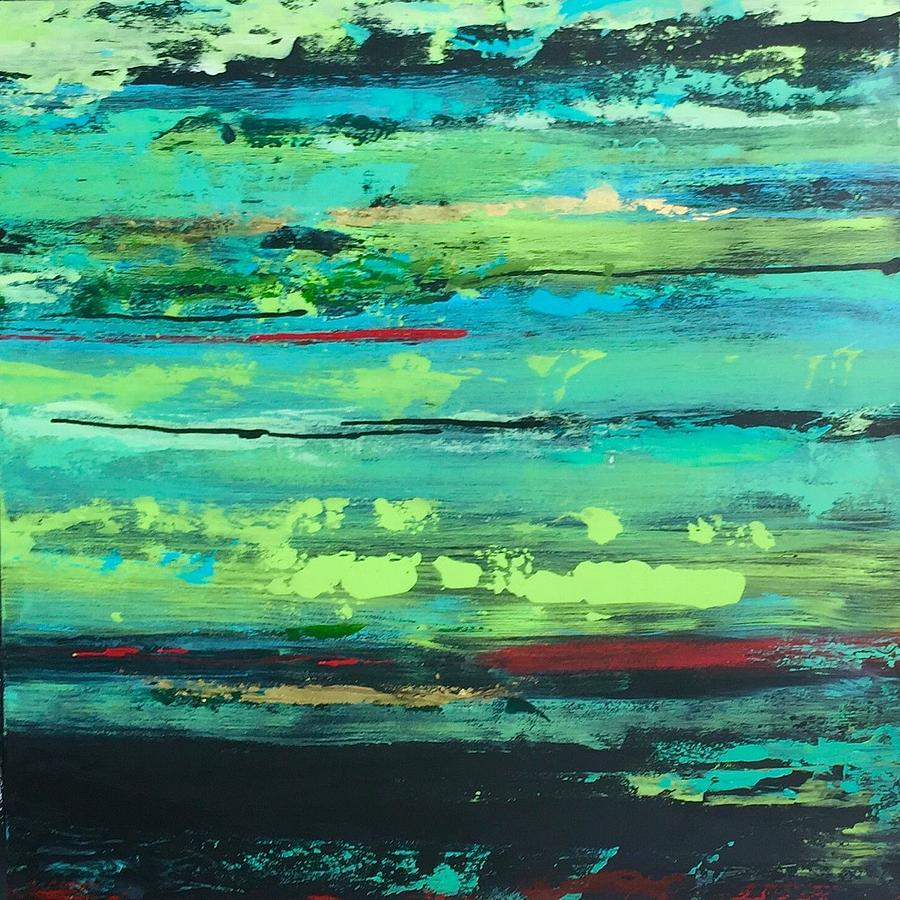 Jaded Painting by Alice Lipping