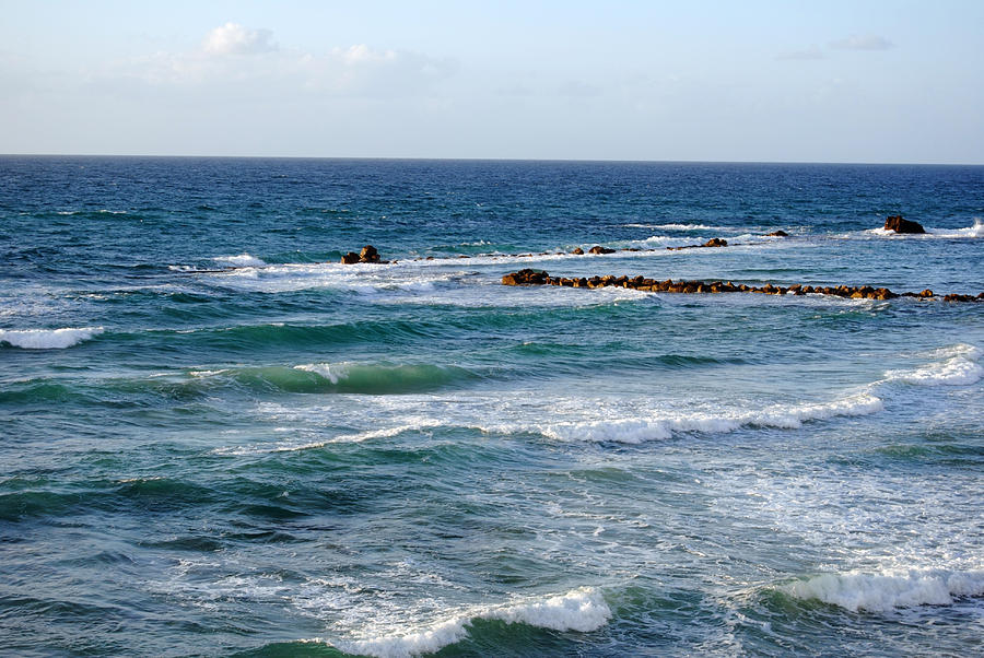 Beach Photograph - Jaffa Beach 10 by Isam Awad