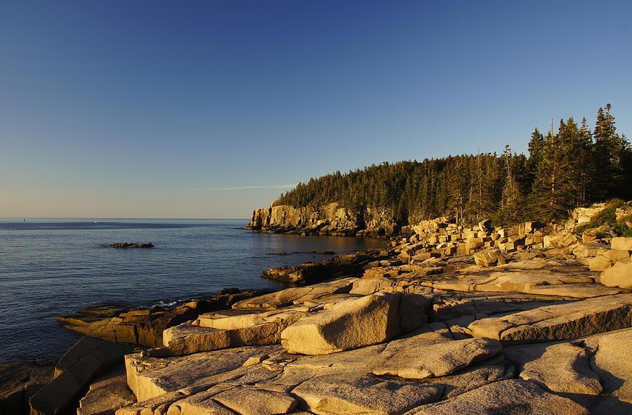 Acadia Photograph - Jagged Coast Of Maine by Brian Kamprath