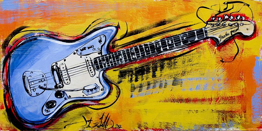 Jaguar Fender Guitar by John Gibbs