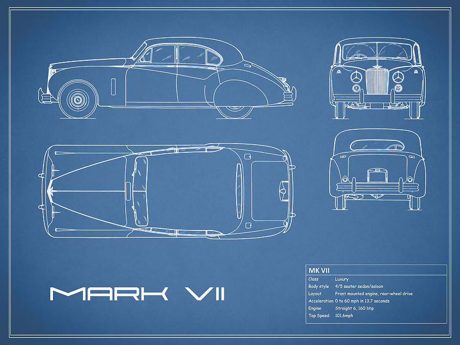 Car blueprint dolgular car blueprint photographs page 4 of 12 fine art america malvernweather Images