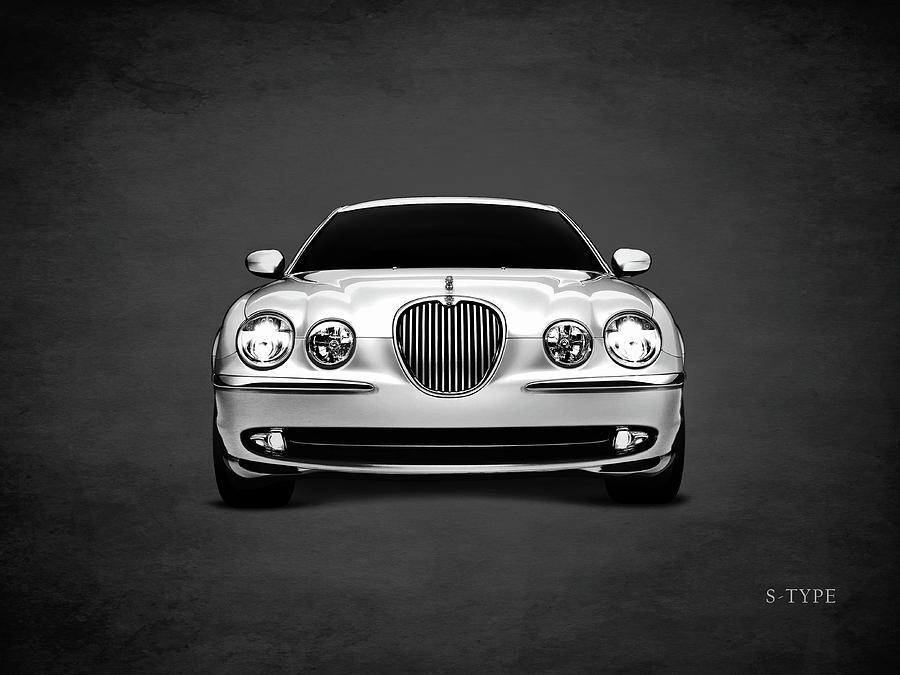 Jaguar Photograph - Jaguar S Type by Mark Rogan