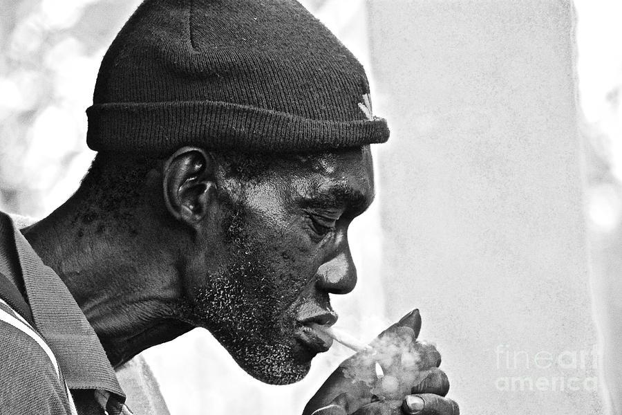 Negril Photograph - Jah, Rastafari by Andrea Spritzer