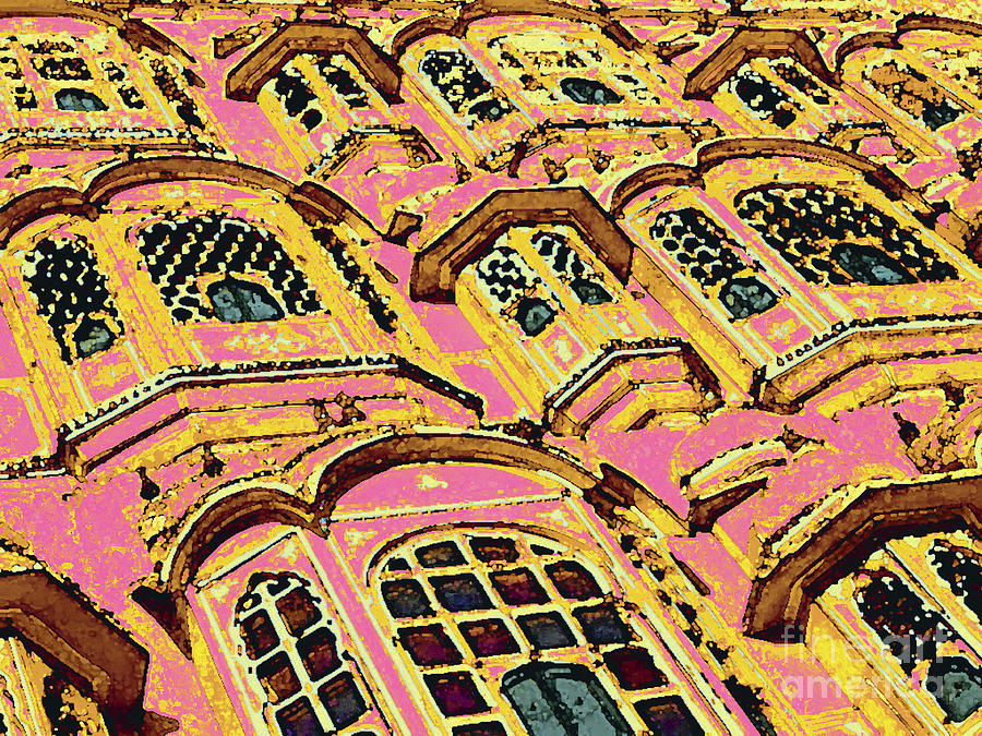 jaipur pink city yellow digital artsabrina fradlina