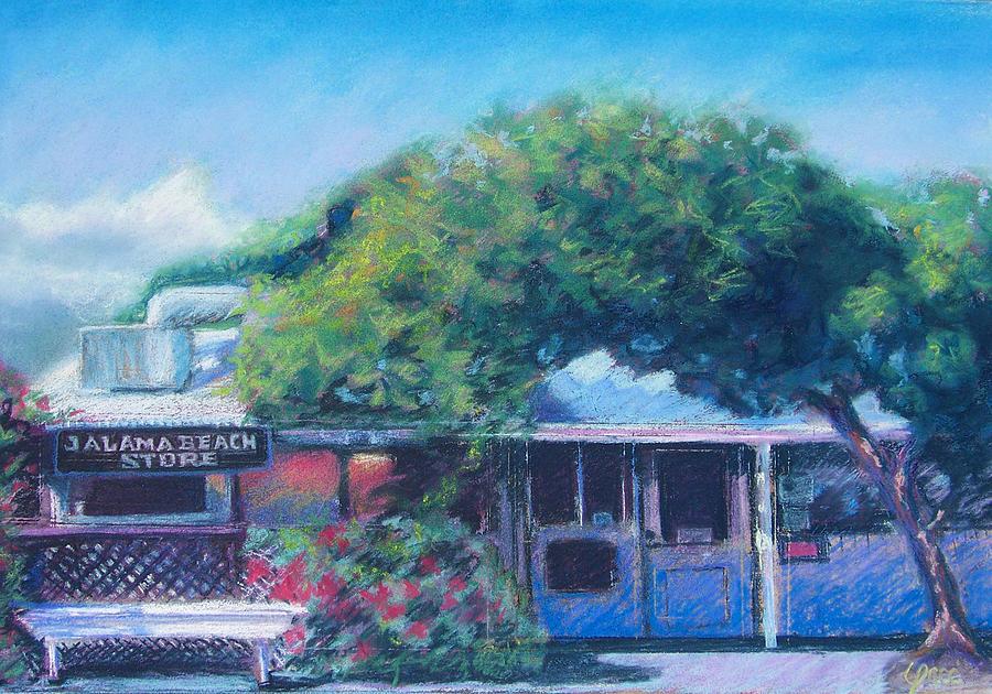 Jalama Pastel - Jalama Beach Store by Laurie Paci