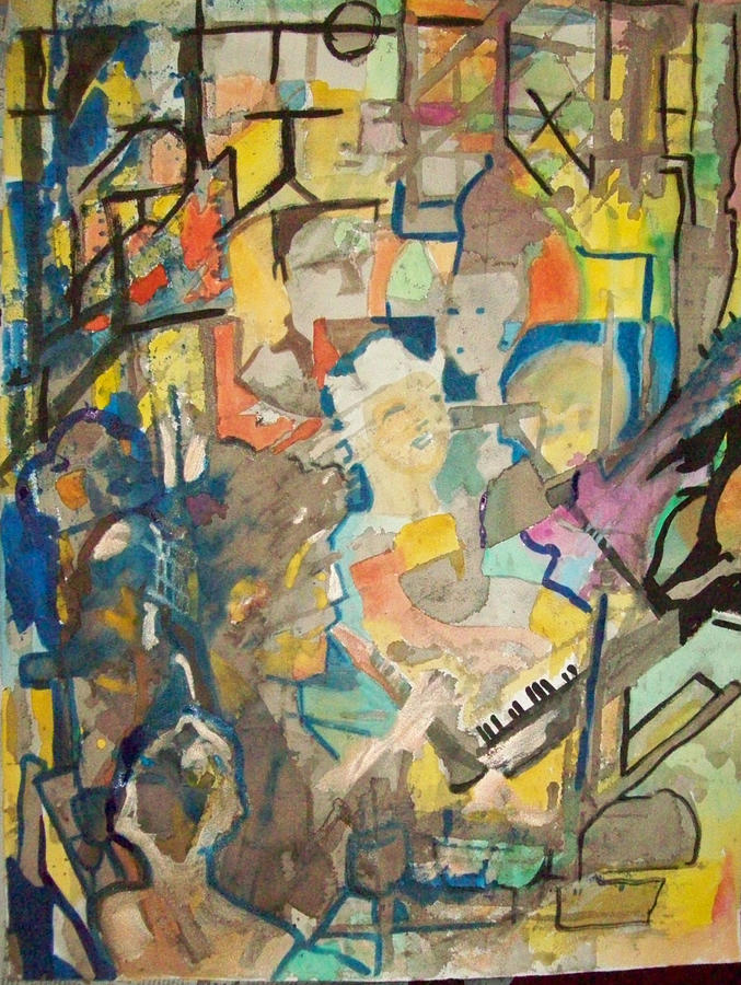 Jam Painting - Jam by James Christiansen