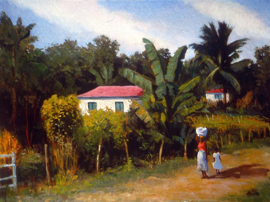 Jamaican Art Paintings