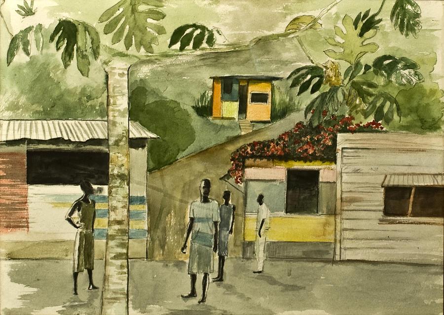 Jamaica Street Painting by Rainer Jacob