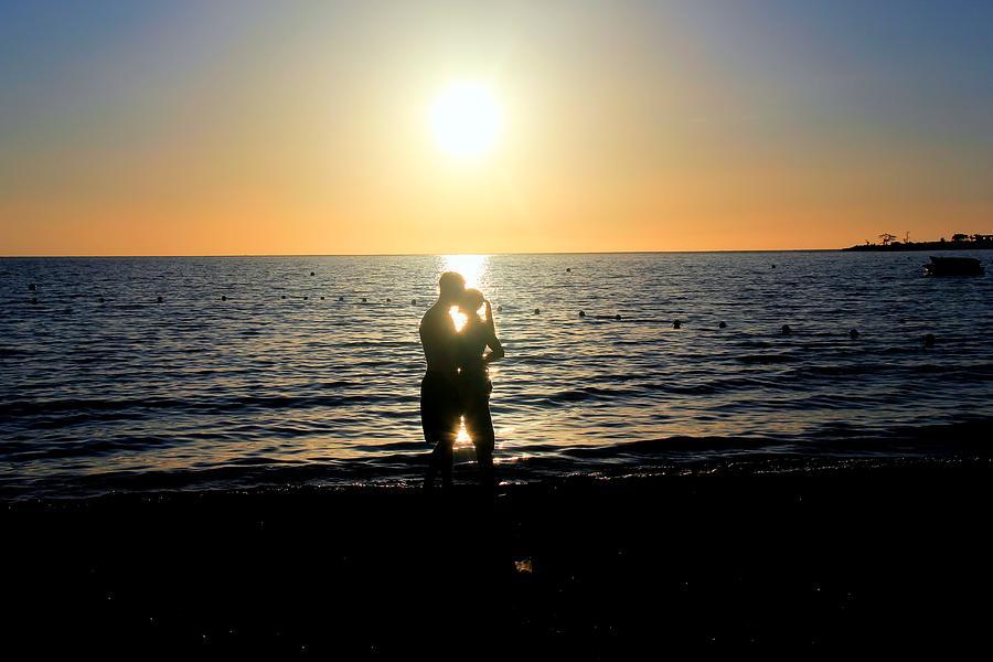 Hdr Digital Art - Jamaican Sunset Kiss By Steve Ellenburg by Steve Ellenburg