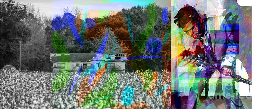 Cotton Digital Art - James Brown  by Joe Roache