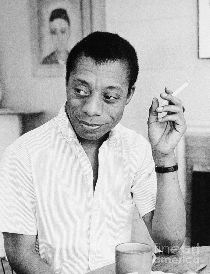 1950s Photograph - James Baldwin by Granger