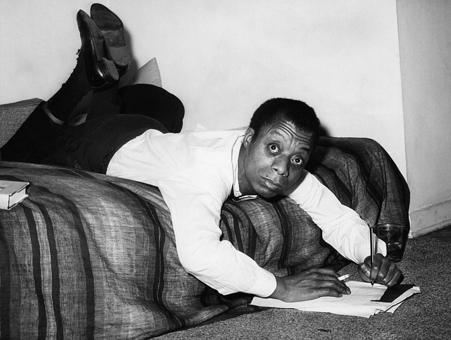 African American Photograph - James Baldwin, 1963 by Everett