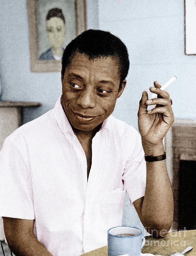 1950s Photograph - James Baldwin by Granger