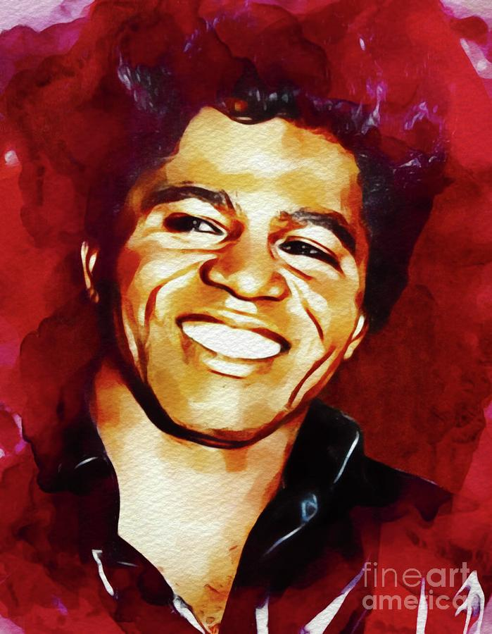 James Brown, Music Legend Painting