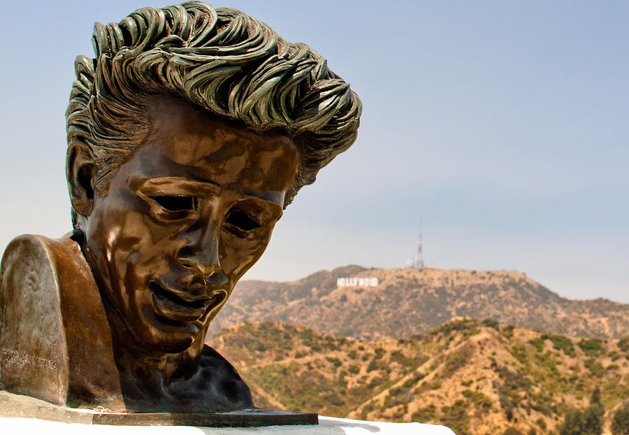 550 Photograph - James Dean - Griffith Observatory by Natasha Bishop