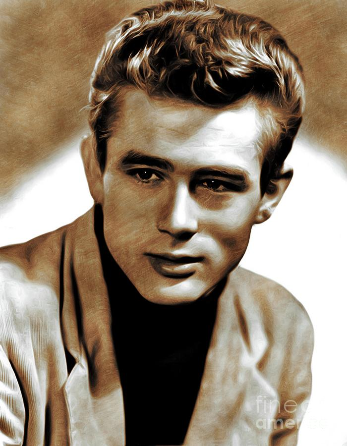James Painting - James Dean, Actor by John Springfield