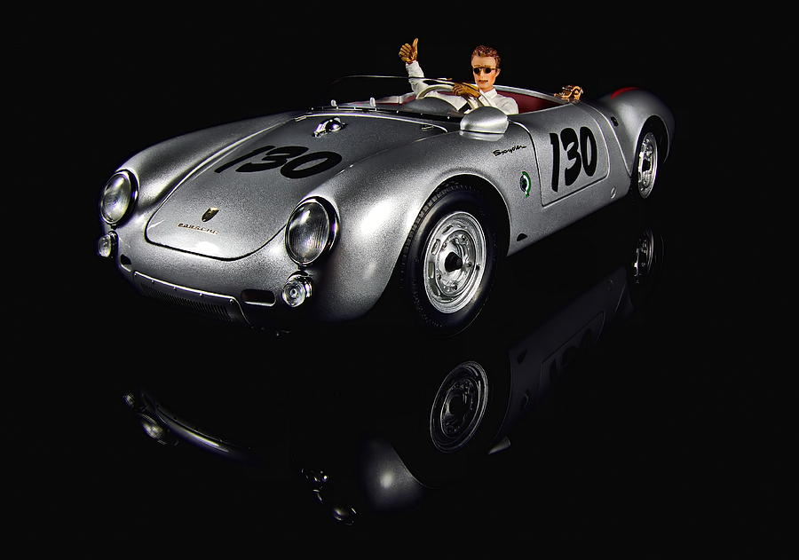 james dean photograph james dean little bastard porsche 550 spyder by thomas piller