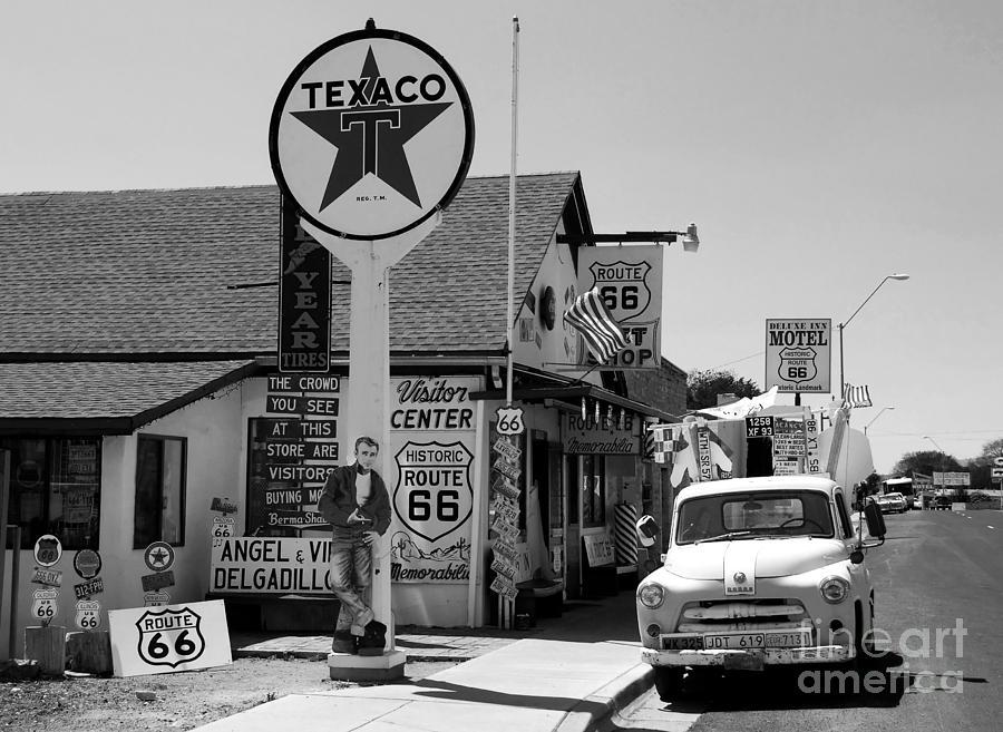 James Dean Photograph - James Dean On Route 66 by David Lee Thompson