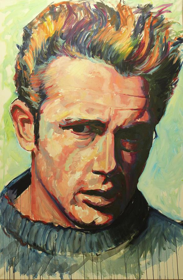James Dean by Tachi Pintor