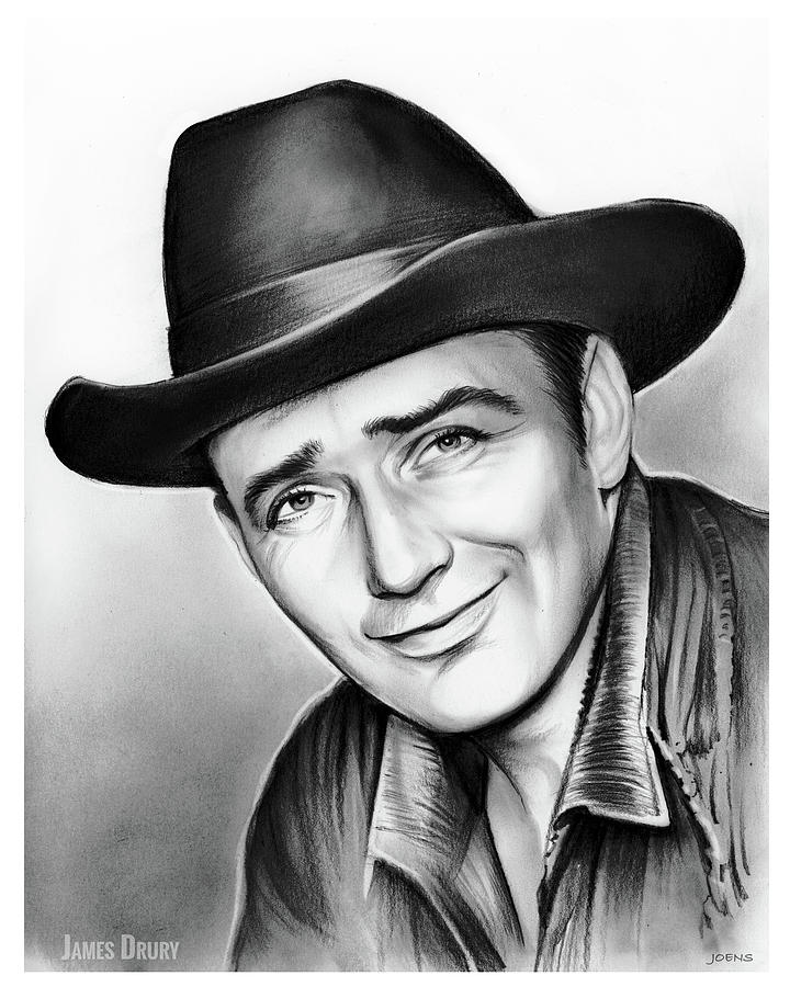 James Drury Drawing