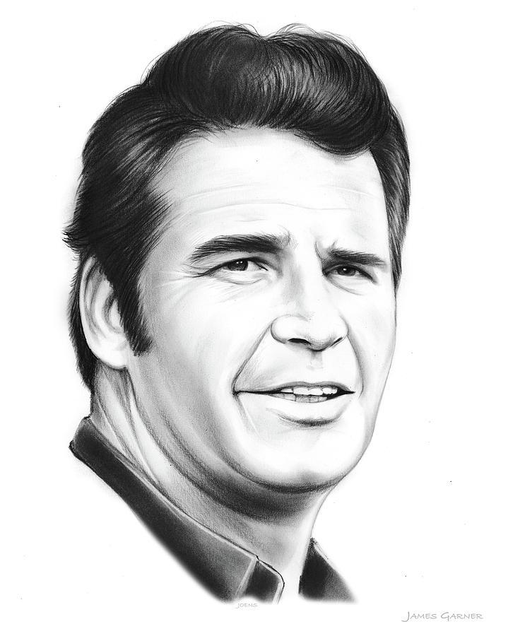 James Garner Drawing