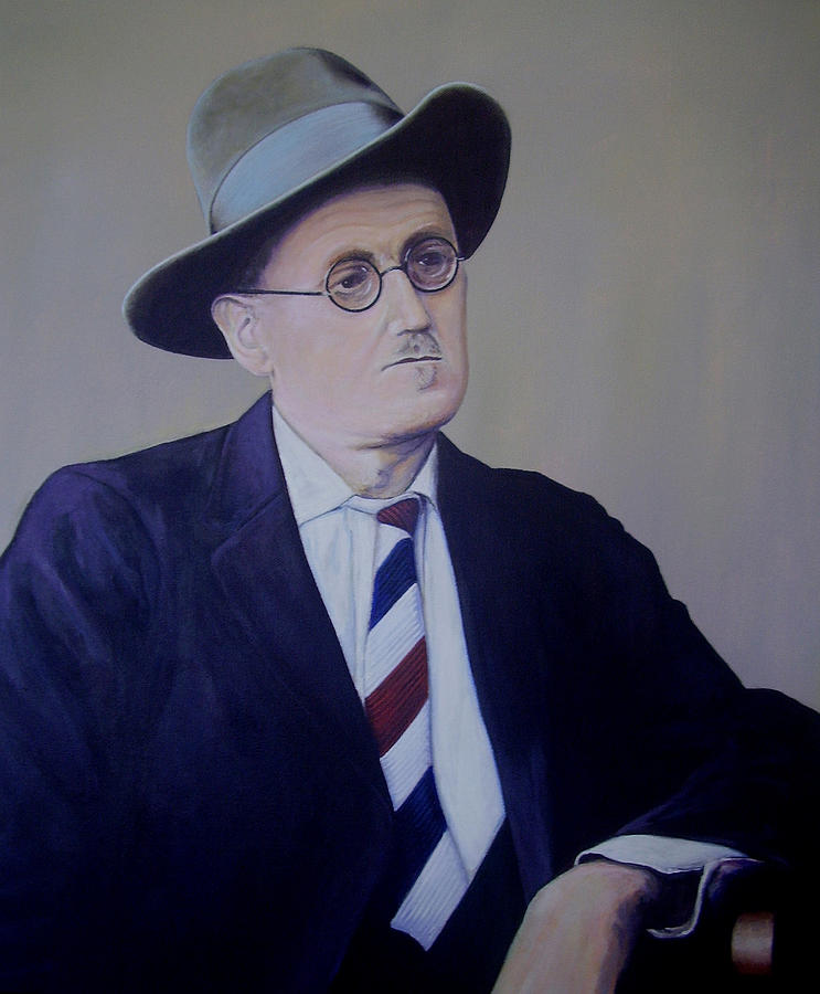 James Joyce Painting - James Joyce by Eamon Doyle
