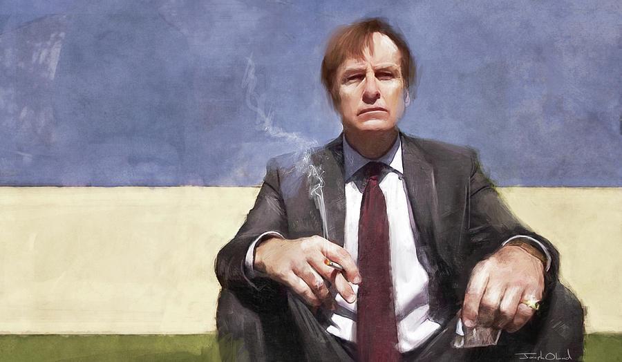 James Mcgill Smokes A Cigarette Better Call Saul