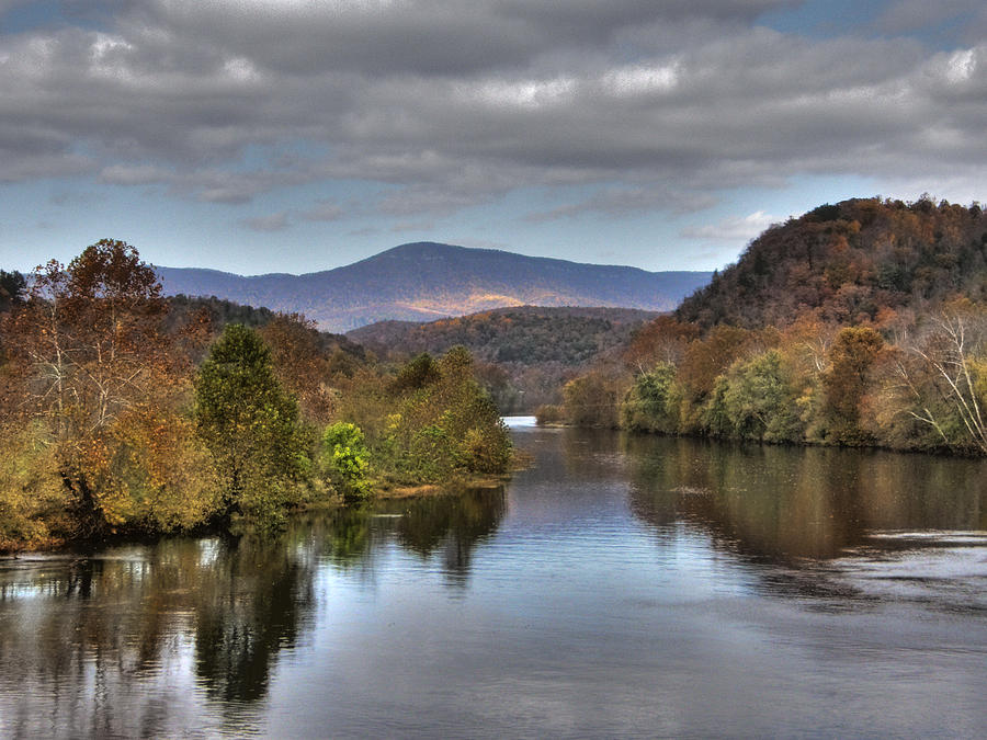 Landscape Photograph - James River 1 by Michael Edwards